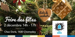 Foire des fêtes de Chez Doris @ Chez Doris | Montréal | Québec | Canada