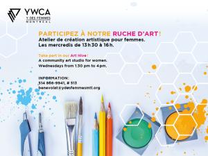 Ruche d'art pour femmes @ Y des femmes de Montréal   Montréal   Québec   Canada